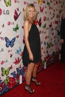 Heidi Klum // LG Rumorous Cell Phone event