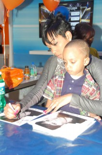 Monica & Lil Rocko // AT&T store opening in Atlanta