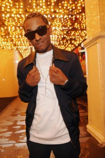 "Lloyd on the set of ""Nite Life\"" video in downtown Las Vegas, NV"