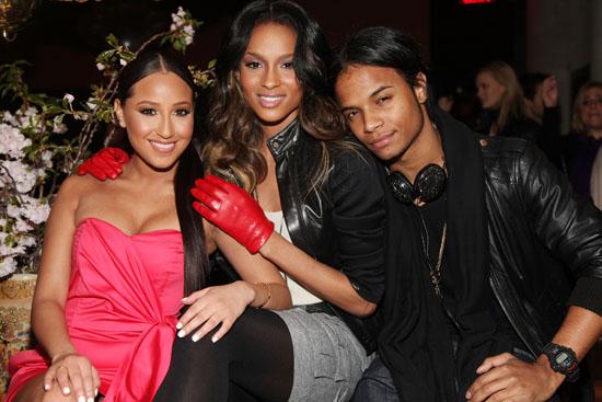 Adrienne Bailon, Ciara and Unique // Nylon Magazine 10th Anniversary Party