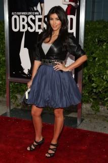 "Kim Kardashian // ""Obsessed"" premiere in NYC"