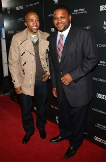 "Kevin Liles & Anthony Anderson // ""Obsessed"" premiere in NYC"