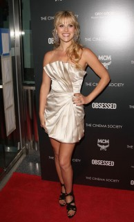 "Ali Larter // ""Obsessed"" premiere in NYC"