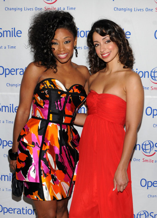 D. Woods & Mya // Operation Smile 2009 event