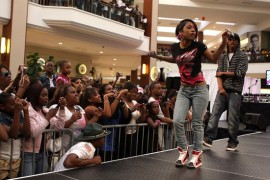 Tiffany Evans // Pastry Mall Tour 2009 at Aventura Mall in Florida