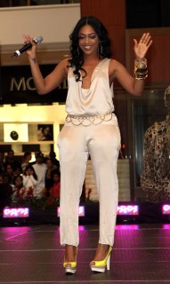 Trina // Pastry Mall Tour 2009 at Aventura Mall in Florida