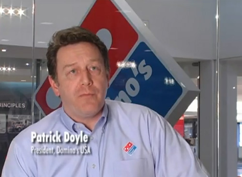 [VIDEO] Domino's USA President Patrick Doyle Responds