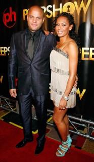 Stephen Belafonte & Mel B // Vegas Premiere of Peepshow