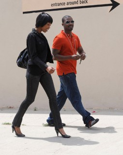 Brandy & Ray J in Los Angels (Apr. 13th 2009)