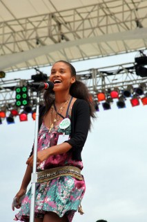 Joy Bryant // Earth Day on the National Mall