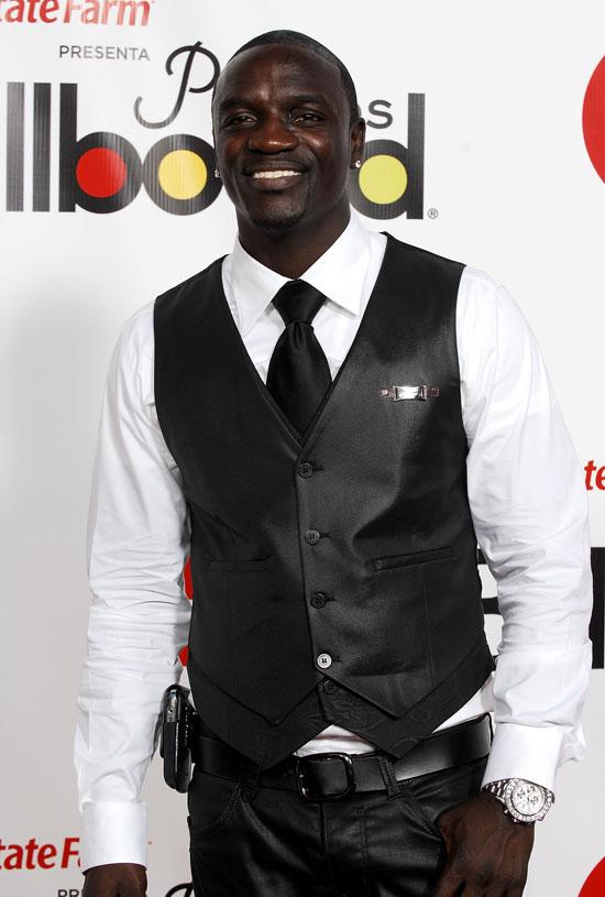 Akon // 2009 Billboard Latin Music Awards