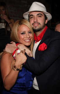 "Aubrey O'Day & DJ Cassidy // 8th Annual Tribeca Film Festival's ""Here and There"" after party"