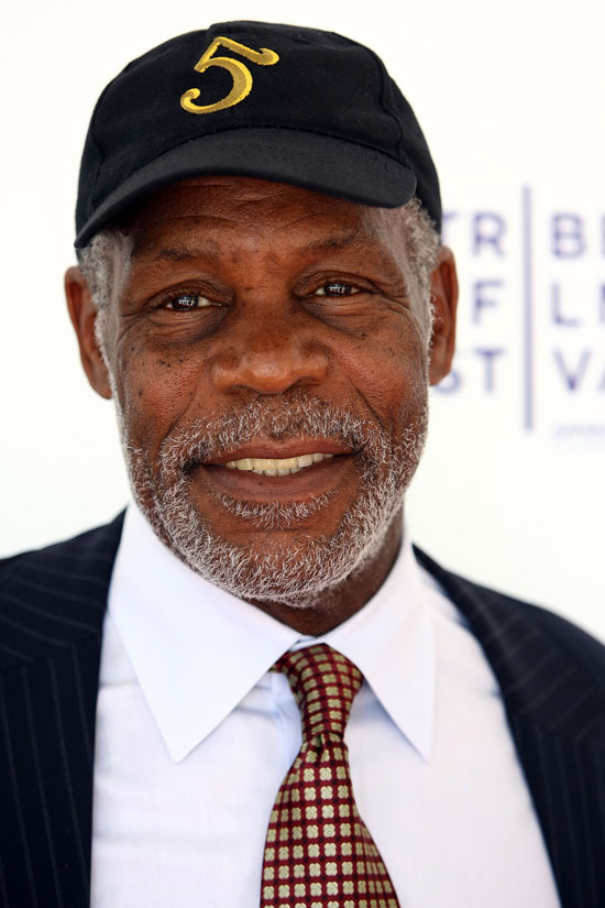 """Danny Glover at the premiere of """"Soundtrack for a Revolution"""""""