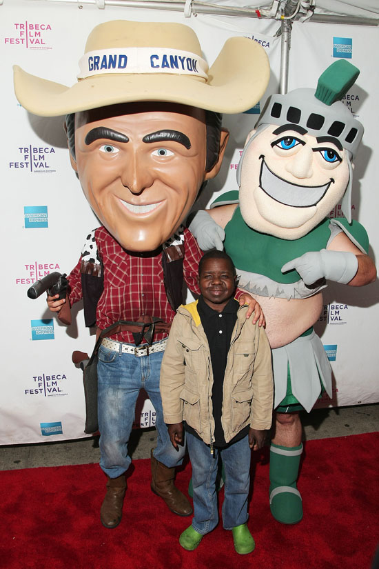 """Gary Coleman at the premiere of """"Midgets vs. Mascots"""""""