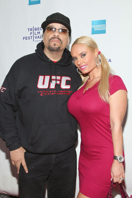 """Ice T & Coco at the premiere of """"Burning Down the House: The Story of CBGB"""""""