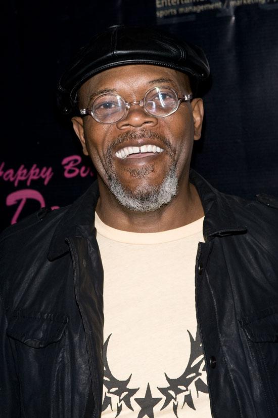 Samuel L. Jackson // Denise White's birthday party