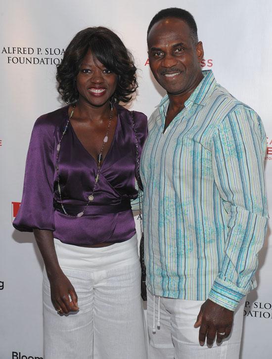 Viola Davis & husband Julius Tennon // 8th annual Tribeca Film Festival's TFI Awards Ceremony