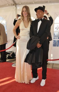 Julie Henderson & Russell Simmons // 2009 Rock and Roll Hall of Fame Induction ceremony