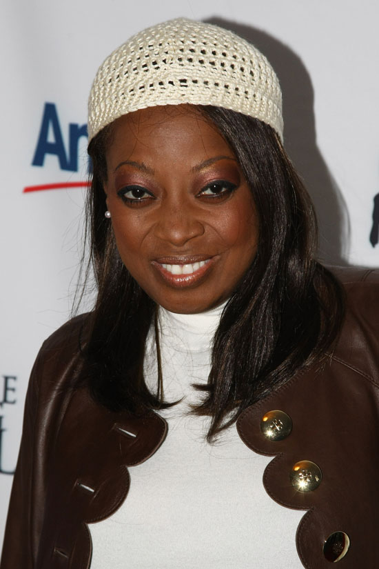Star Jones // 2009 Skating with the Stars Gala