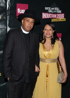Justine Simmons & Rev. Run // 2009 Rock and Roll Hall of Fame Induction ceremony