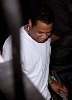Jay-Z // Q-Tip's 39th birthday party in NY
