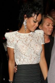 Rihanna partying in LA (Mar. 24th 2009)