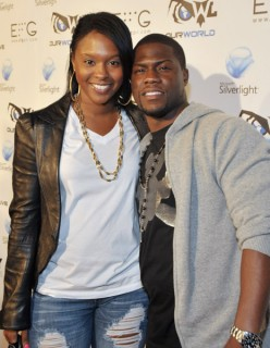 "Kevin Hart & (wife) Torre // ""Our World Live"" concert in Hollywood"