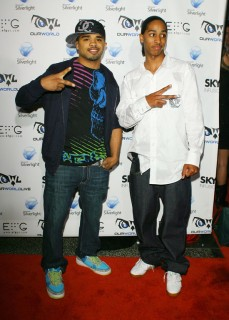 "Raz B & guest // ""Our World Live"" concert in Hollywood"
