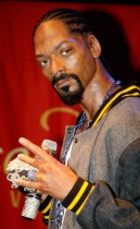 Snoop Dogg\'s wax figure at Madame Tussauds in Vegas
