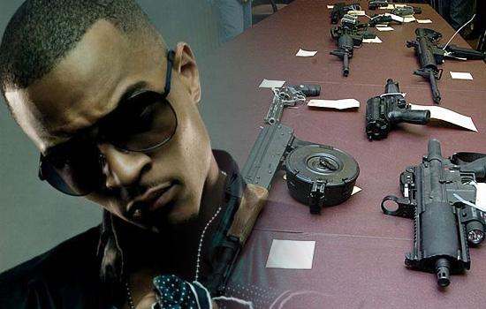 T.I.'s guns
