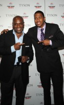 "Antonio ""L.A."" Reid & Nick Cannon // ""Tyson"" documentary screening in NYC"