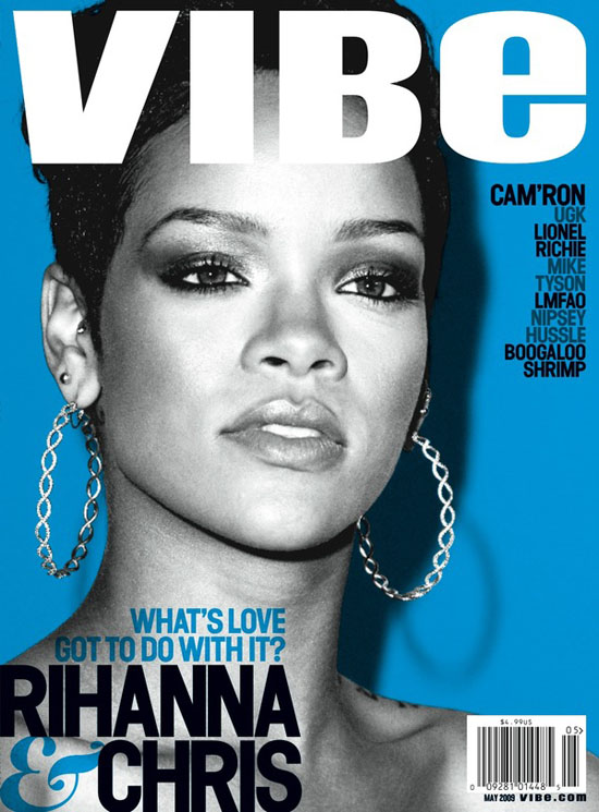 Rihanna covers May 2009 Vibe
