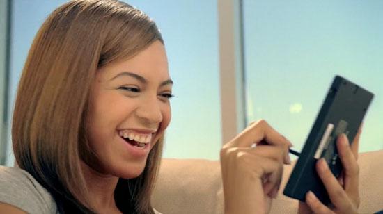 "Beyonce ""Rhythem Heaven"" Nintendo DS television advertisement"