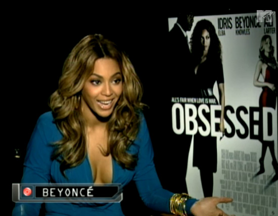 Beyonce responds to fake screeching video (MTV News)