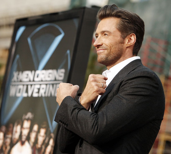 Hugh Jackman // X-Men Origins: Wolverine Hollywood movie premiere
