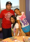 Angela & Vanessa Simmons at hildren's Miracle Network hospital of Los Angeles in California