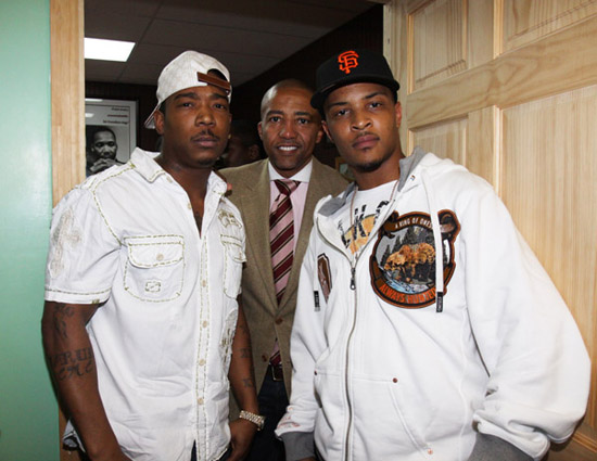 Ja Rule, Kevin Liles & T.I. // K.I.N.G. Foundation Anti-Gun Rally in New York