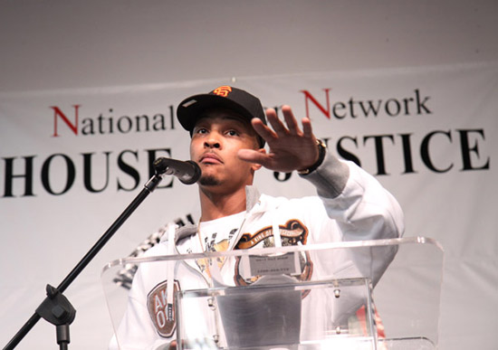 T.I. // K.I.N.G. Foundation Anti-Gun Rally in New York