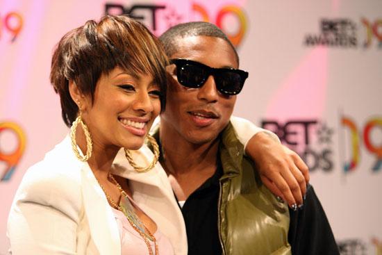 Keri Hilson & Pharrell Williams // BET Awards '09 Nominee Announcements
