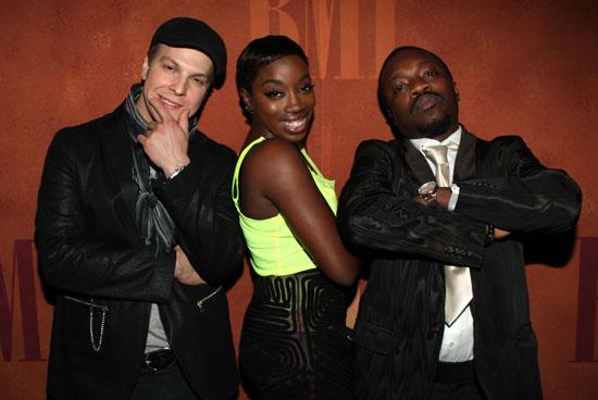 Gavin DeGraw, Estelle and Anthony Hamilton // 57th Annual BMI Pop Awards