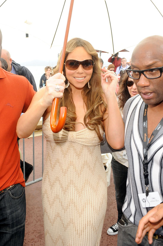 Mariah Carey at Cannes Film Festival (May 15th 2009)