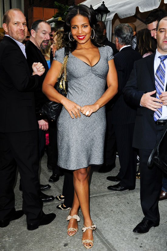 Sanaa Lathan in NYC (May 18th 2009)