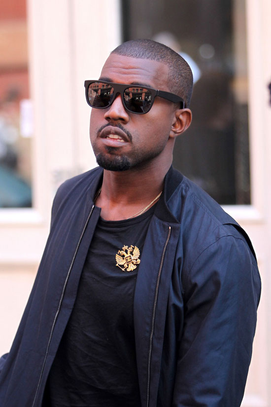Kanye West in SoHo (May 25th 2009)
