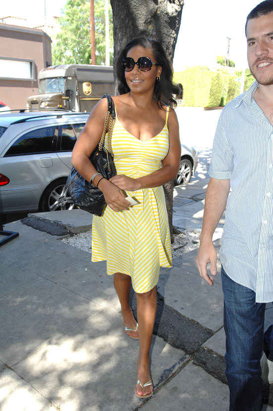 Sanaa Lathan in West Hollywood (May 7th 2009)