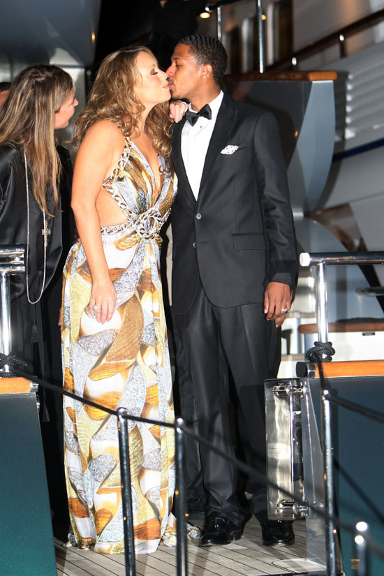 Mariah Carey & Nick Cannon // Roberto Cavalli Dinner in Cannes