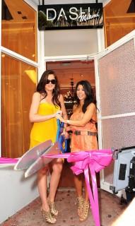 Khloe & Kourtney Kardashian // Dash Miami store opening in Miami Beach