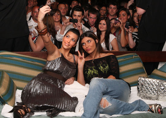 Kim Kardashian & Brittny Gastineau // Dash Miami Store Opening Afterparty at Clevelander Hotel