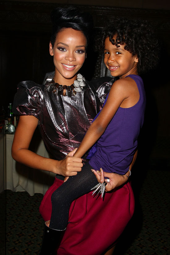 Rihanna and honoree Isabelle Huurman // DKMS 3rd Annual Star-Studded Gala