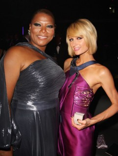 Queen Latifah & Paris Hilton // 37th Annual FiFi Awards