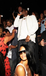 Diddy & Cassie // Manny Pacquiano vs. Ricky Hatton boxing match after party at TAO in Vegas